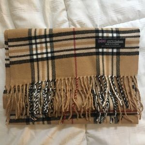 100% cashmere scarf, made in scotland
